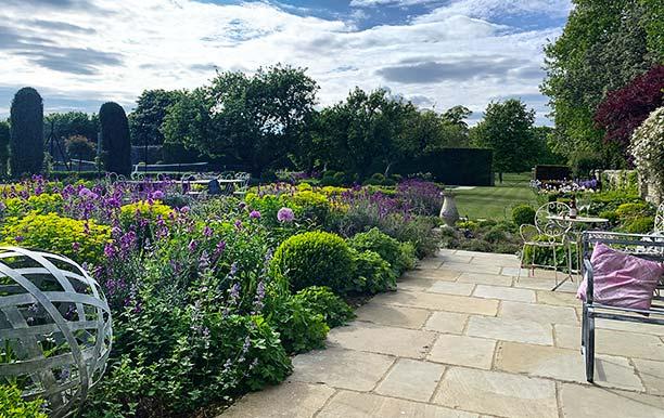 Country Garden in Cambridgeshire