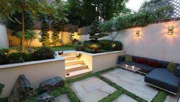 Japanese landscape influenced garden