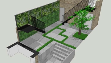 Knightsbridge garden visual