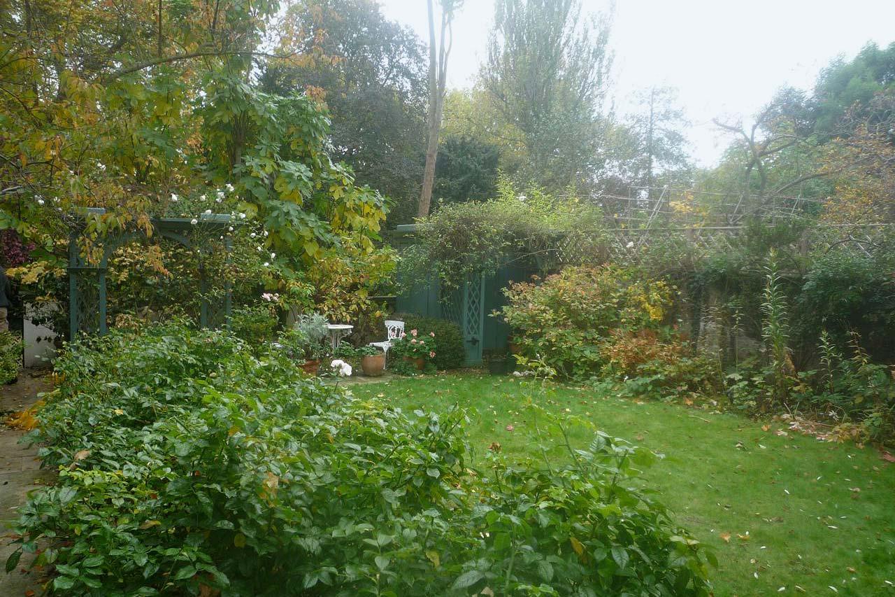 Ladbroke Square garden before we started
