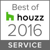 Best of Houzz Service 2016 logo
