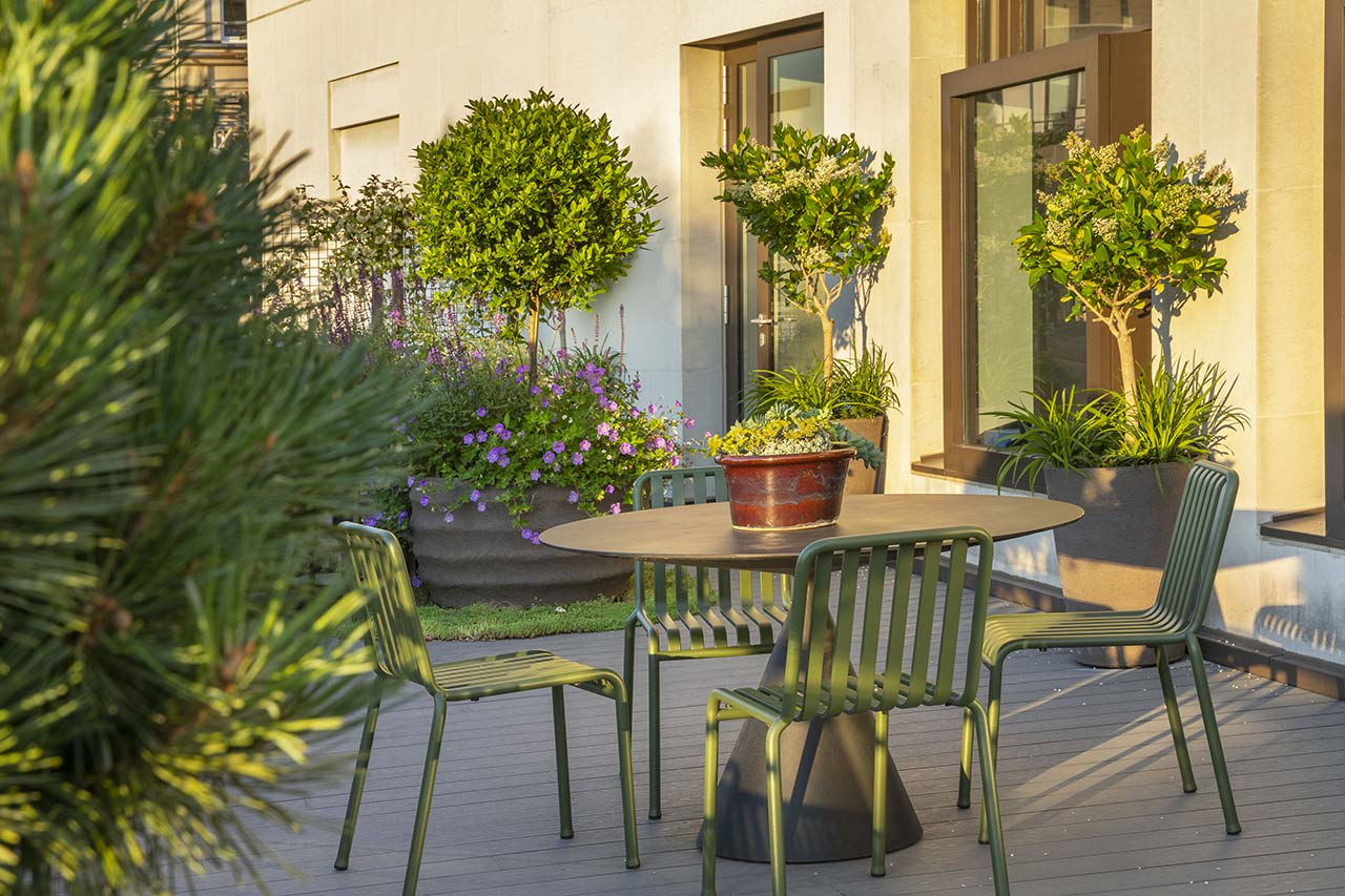 Mayfair Roof Terrace improves air quality and attracts pollinators