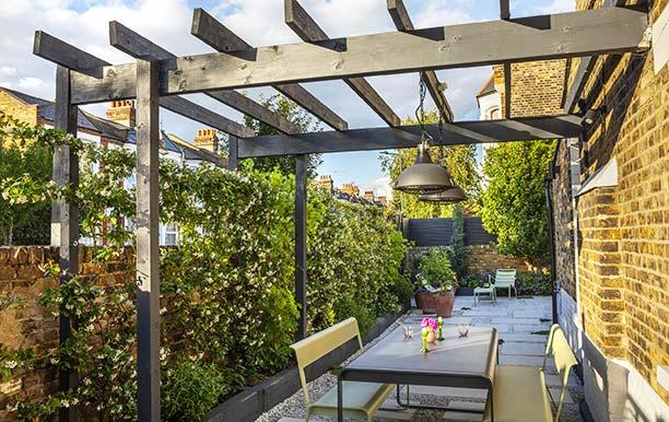 Kensal Rise Mediterranean influenced garden
