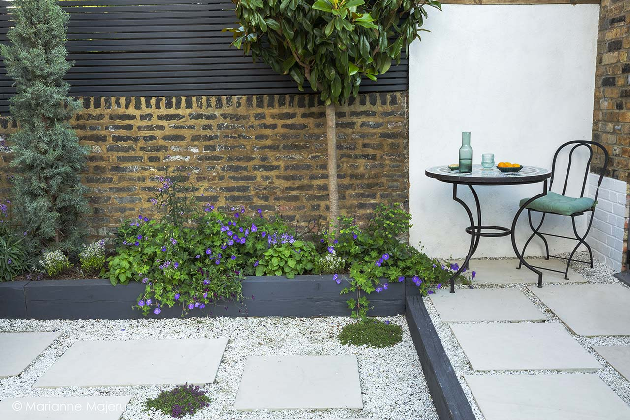 Mediterranean inspired space in Kensal Rise, London