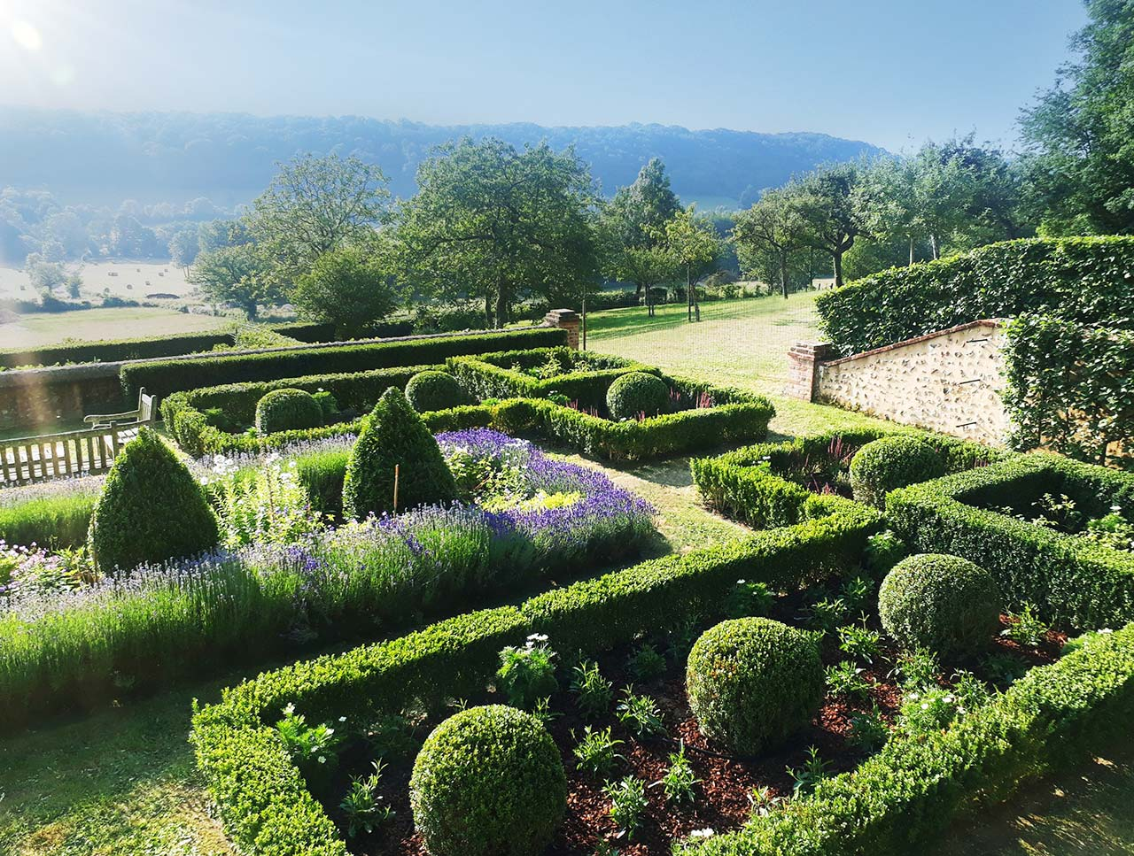 French Garden by Maïtanne Hunt